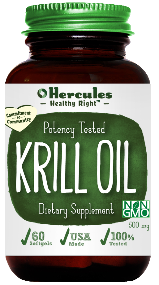 Indianapolis, IN - Hercules Vitamins - Krill Oil Supports Joint Health